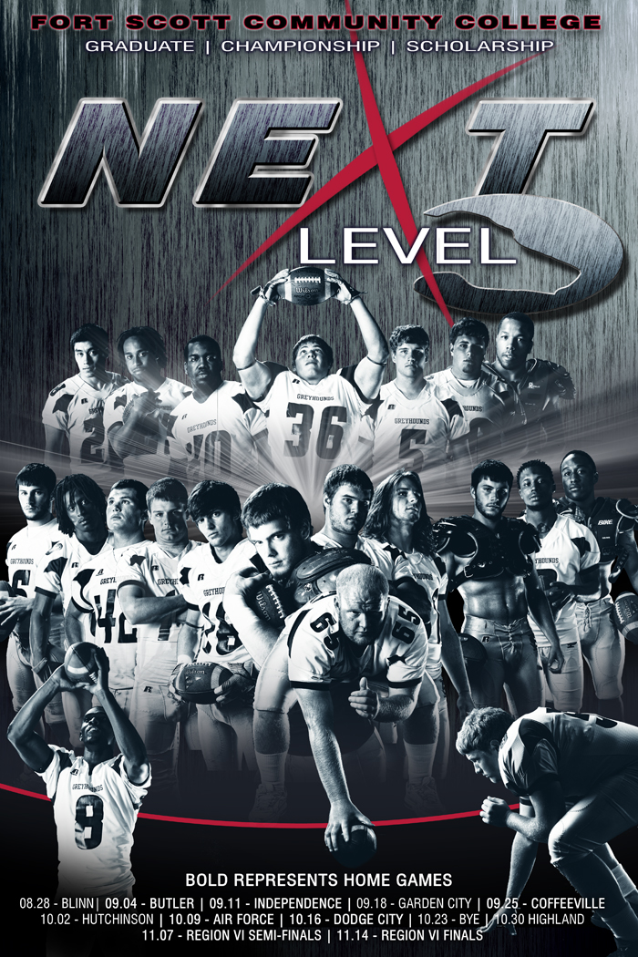 FSCC Next Level Football Poster - Offense
