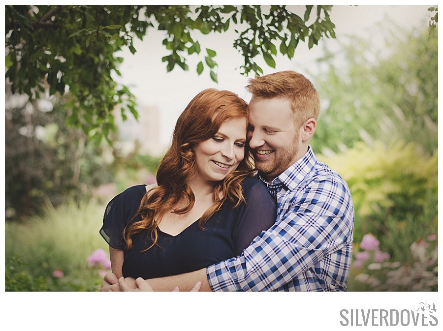 featured photo from Cortney and Steven's photography session at Kauffman Memorial Garden in Kansas City, MO