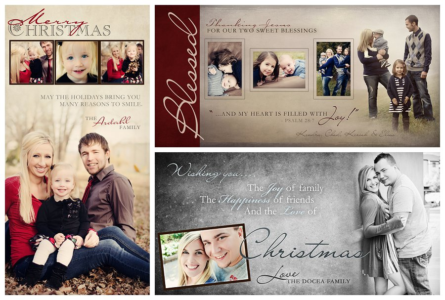 Custom Christmas Card Designs