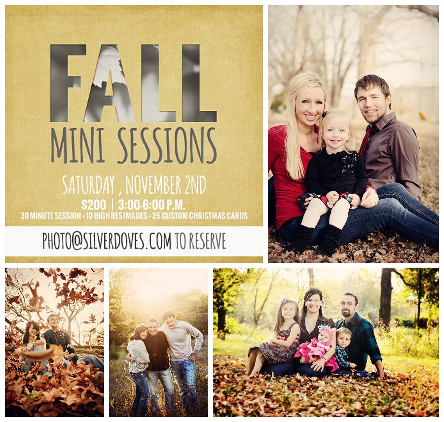 Fall Mini Sessions by Silverdoves Photography & Design