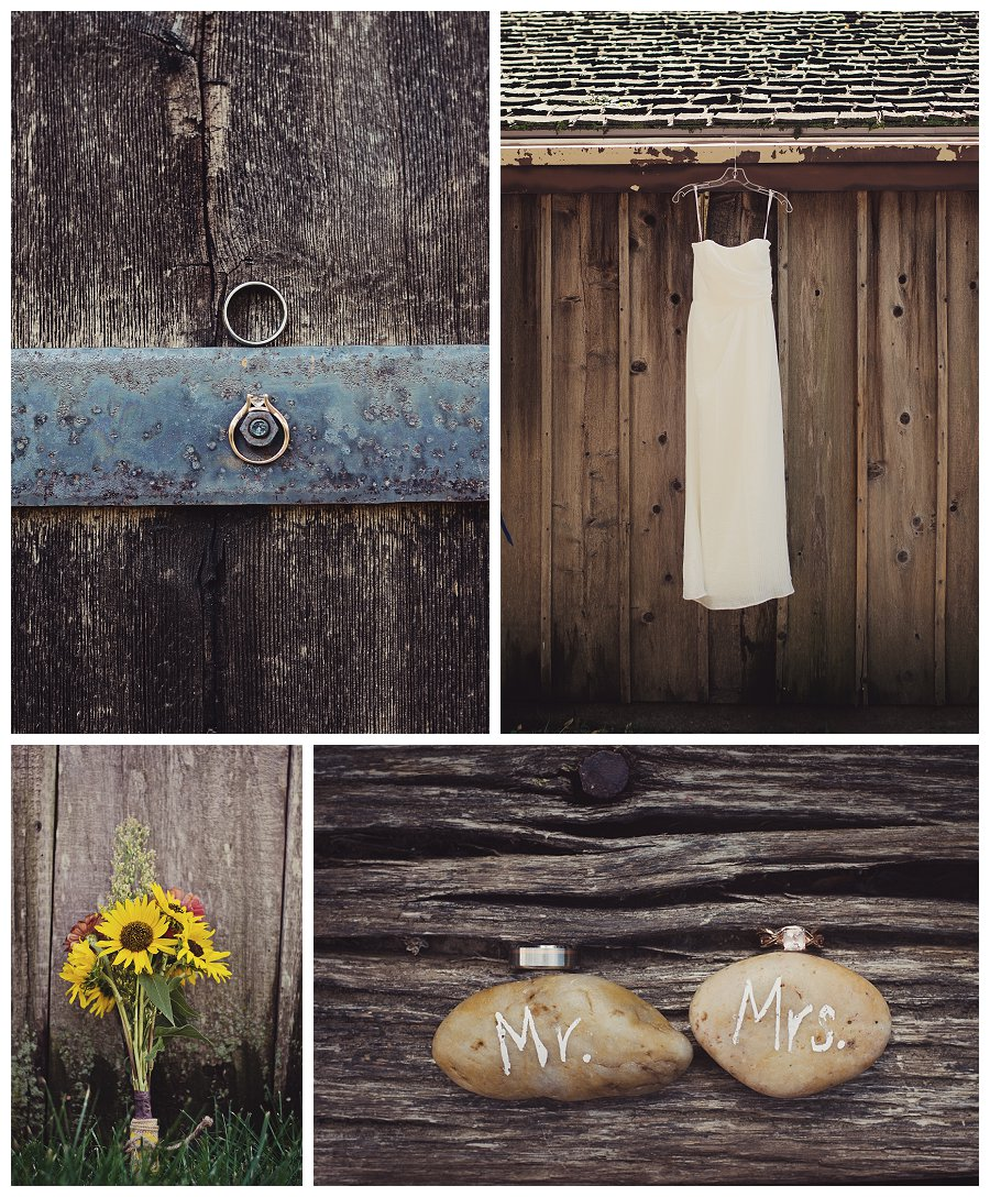 Ashley & Rob's DIY Wedding