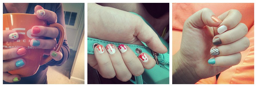 Fancy Nail Painting
