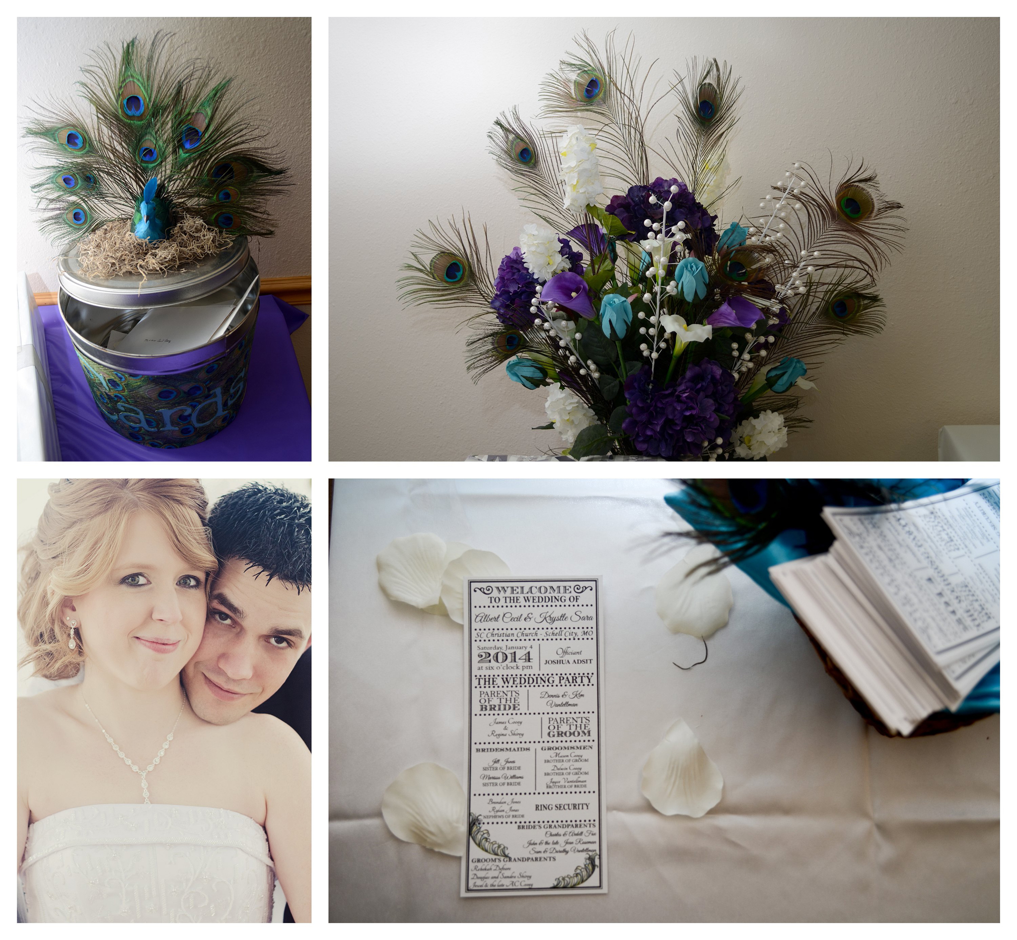 Program Wedding Photo by Johnson County Wedding Photographer Brittany Tarchala