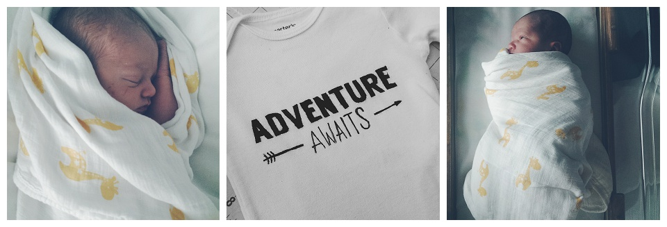 Finns official going home shirt - birth story