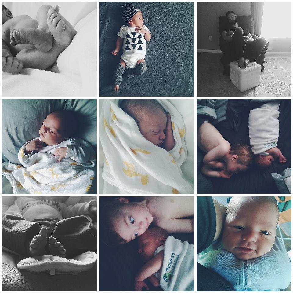 Master Finn - One Months Update Photos