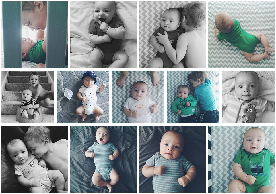 Finn's 4 Month Photos Instagram