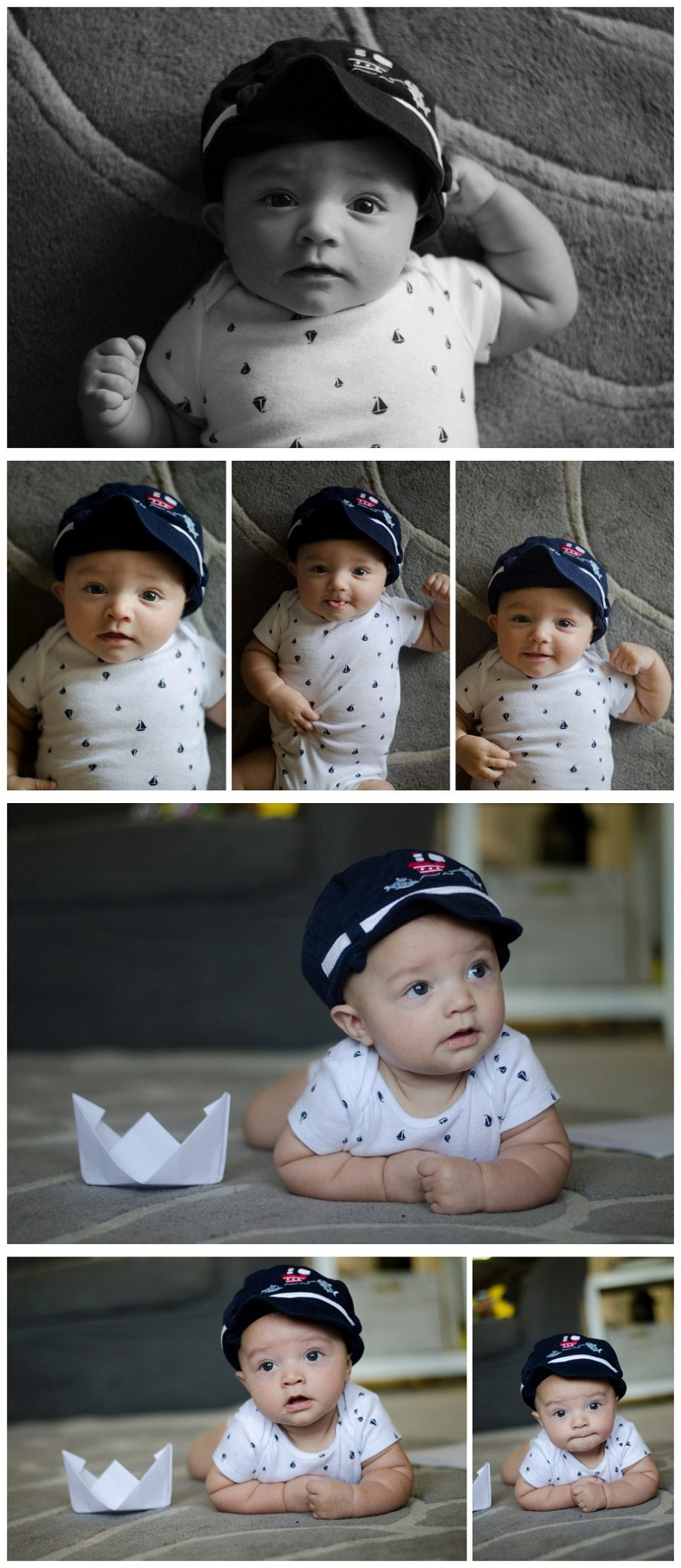Finn's 4 Month Photos