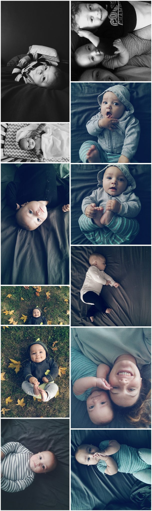 Finn's 6 month photos - VSCO and Instagram