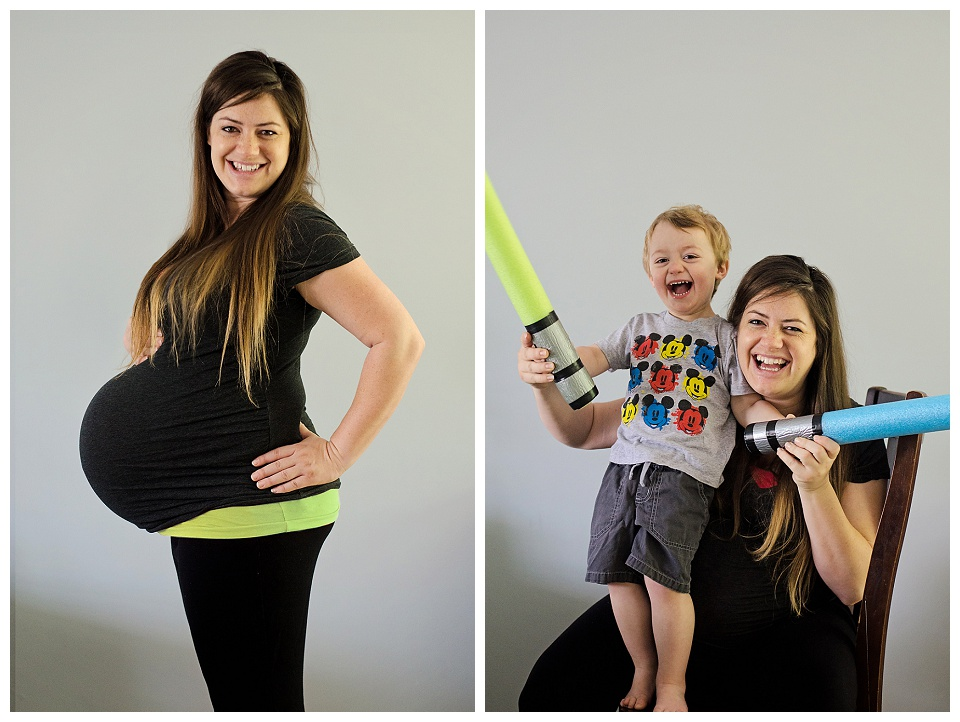 Baby Bump Belly Day - 39 Weeks